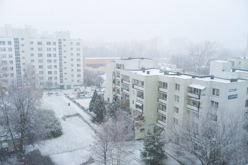 Przewidywane są opady śniegu /East News