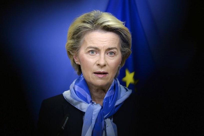 Przewodnicząca KE Ursula von der Leyen /AFP