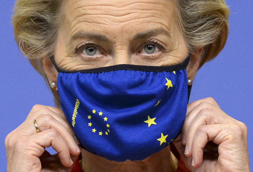 Przewodnicząca KE Ursula von der Leyen /JOHANNA GERON /AFP