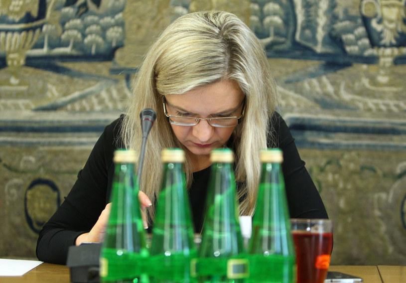 Przewodnicząca komisji ds. Amber Gold Małgorzata Wassermann /Stanisław  Kowalczuk /East News