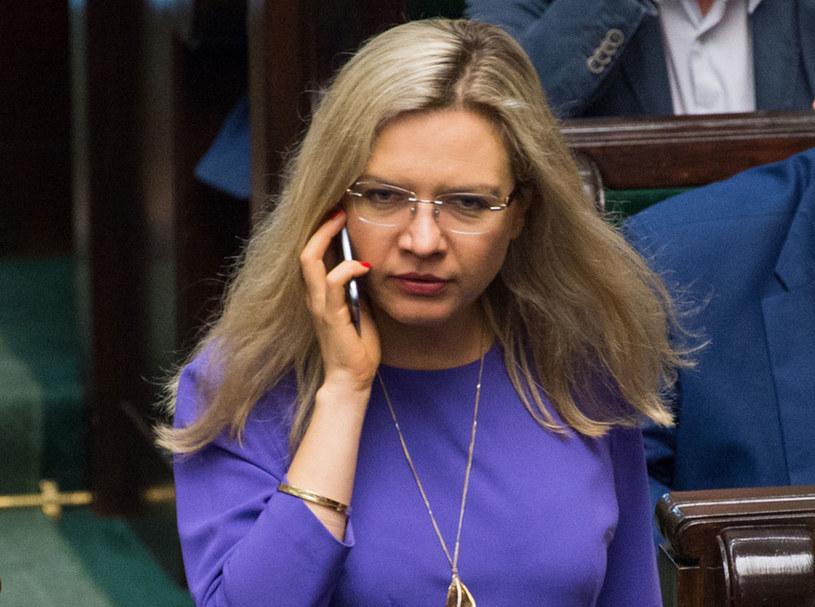 Przewodnicząca komisji ds. Amber Gold Małgorzata Wassermann /Jacek Domiński /Reporter