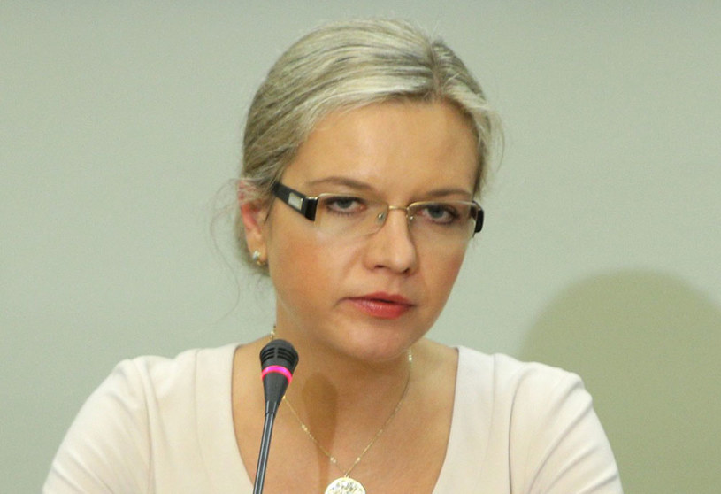 Przewodnicząca komisji Małgorzata Wassermann /Stanisław Kowalczuk /East News