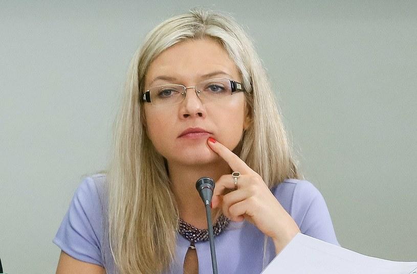 Przewodnicząca komisji śledczej ds. Amber Gold Małgorzata Wassermann /Paweł Supernak /PAP