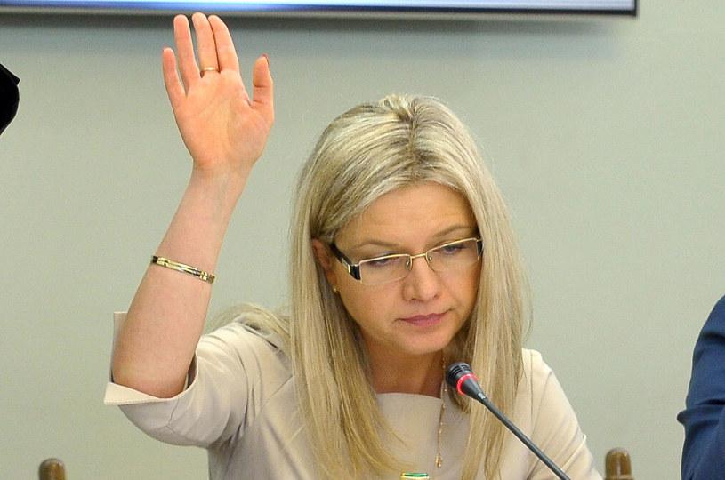 Przewodnicząca Małgorzata Wassermann /Marcin Obara /PAP