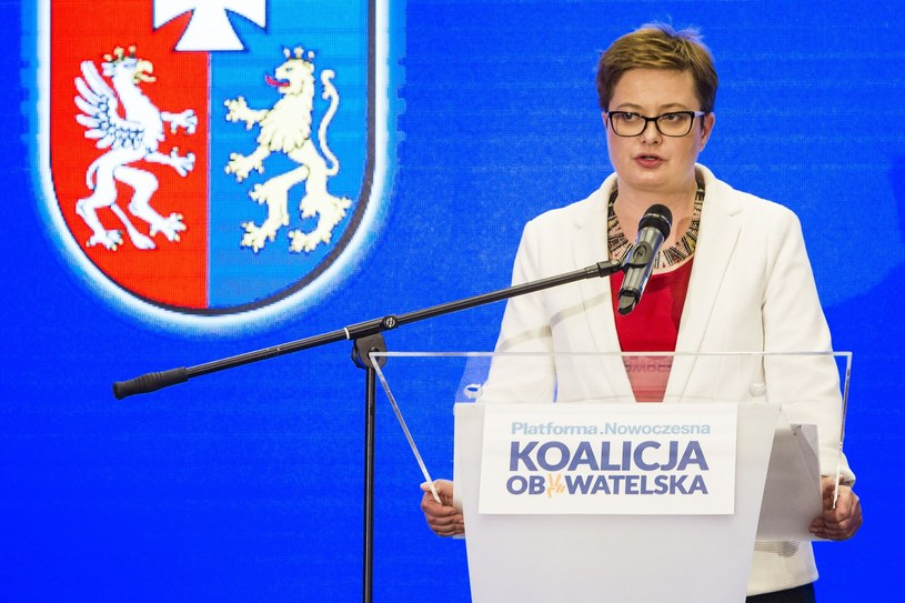 Przewodnicząca Nowoczesnej Katarzyna Lubnauer nie widzi szans na zwycięstwo PiS w dużych miastach /Grzegorz Bukala/REPORTER /Reporter