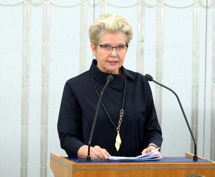 Przewodnicząca senackiej komisji zdrowia Beata Małecka-Libera /Jan Bielecki /East News