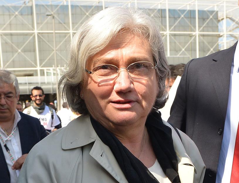 Przewodnicząca włoskiej parlamentarnej komisji antymafijnej Rosy Bindi /VINCENZO PINTO /AFP