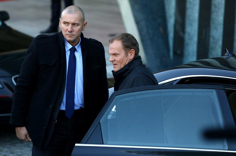 Przewodniczący-elekt Rady Europejskiej Donald Tusk /Tomasz Gzell /PAP