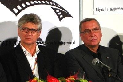 Przewodniczący jury: Feliks Falk i Janusz Kijowski /INTERIA.PL