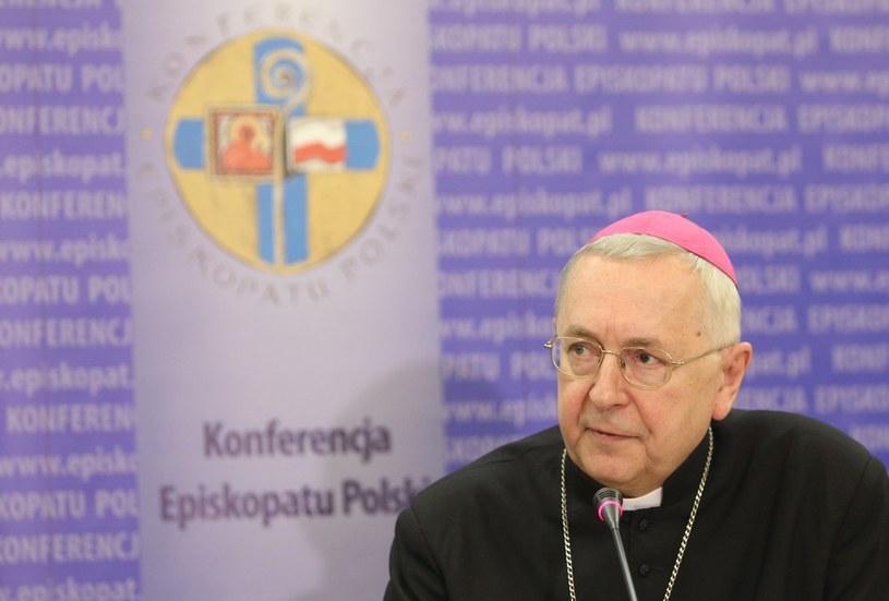Przewodniczący KEP abp Stanisław Gądecki /Stanisław Kowalczuk /East News