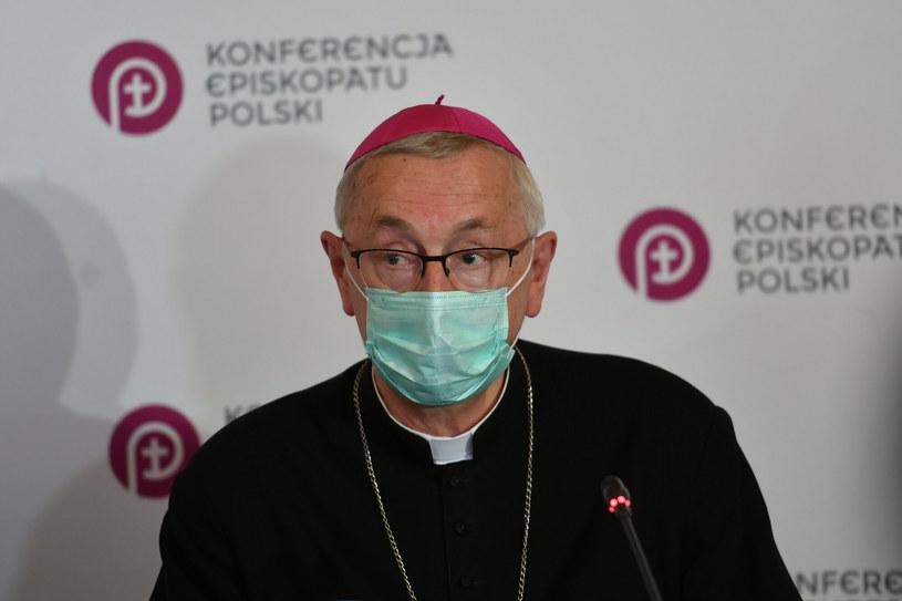 Przewodniczący KEP abp Stanisław Gądecki /Artur BARBAROWSKI/East News /East News
