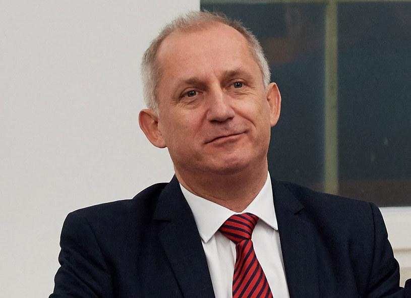 Przewodniczący klubu parlamentarnego PO Sławomir Neumann /Adam Warżawa /PAP