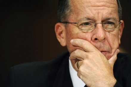 Przewodniczący Kolegium Połączonych Sztabów: Michael Mullen /AFP
