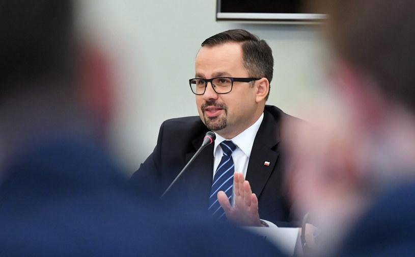 Przewodniczący komisji Marcin Horała /Piotr Nowak /PAP