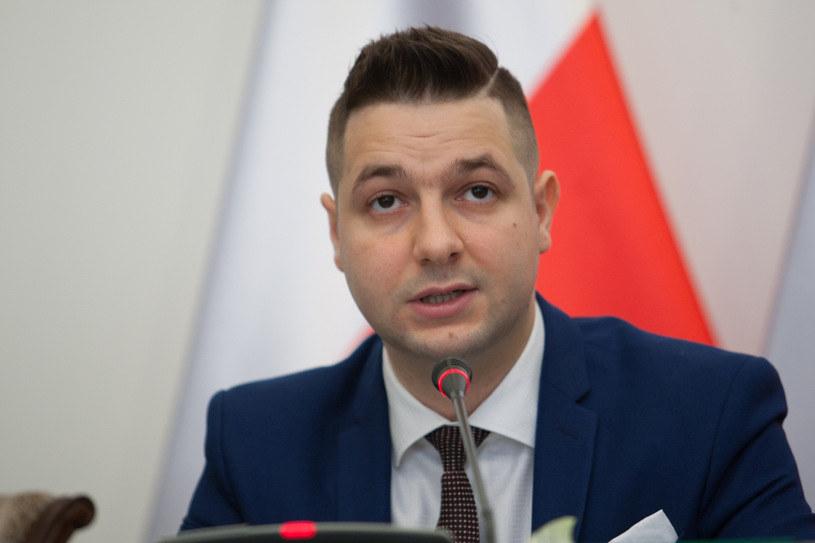 Przewodniczący komisji Patryk Jaki /Paweł Wisniewski /East News