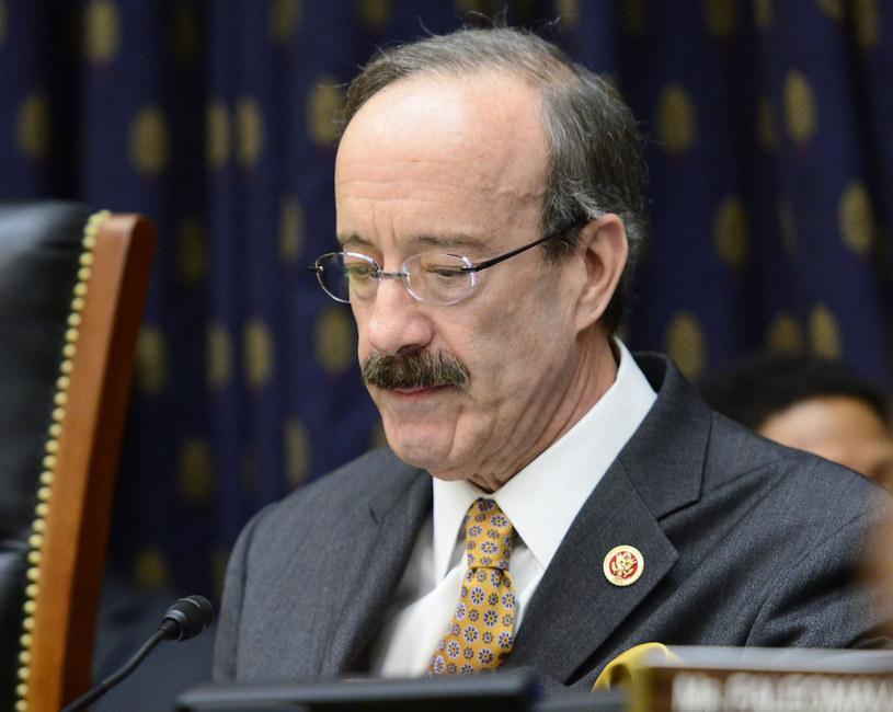 Przewodniczący komisji spraw zagranicznych Izby Reprezentantów Eliot Engel /Ron Sachs/CNP/AdMedia/Capital Pictures/ /East News