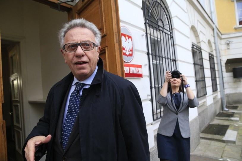 Przewodniczący Komisji Weneckiej Gianni Buquicchio /Andrzej Iwańczuk /Reporter