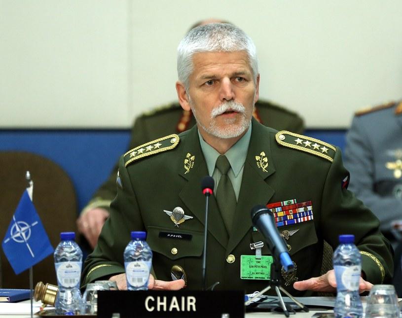 Przewodniczący Komitetu Wojskowego NATO gen. Petr Pavel /Getty Images