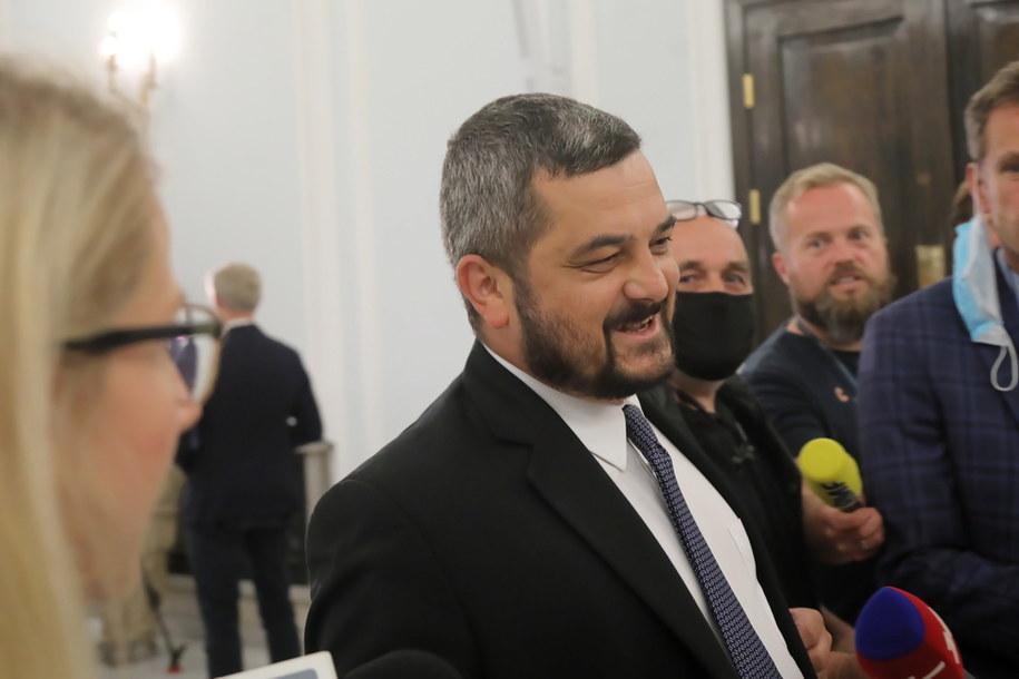 Przewodniczący Komitetu Wykonawczego PiS Krzysztof Sobolewski /Wojciech Olkuśnik /PAP