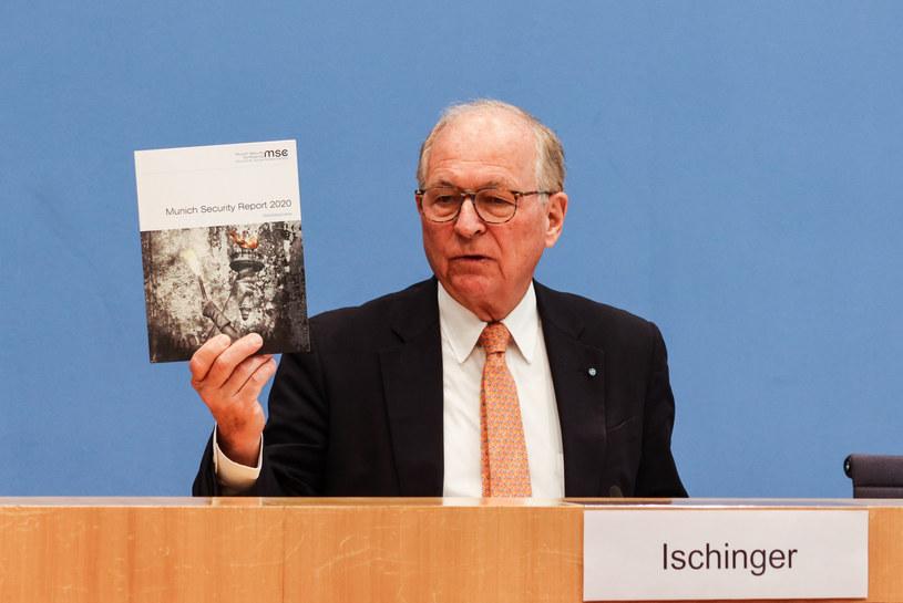 Przewodniczący Konferencji Bezpieczeństwa w Monachium (MSC) Wolfgang Ischinger /Ren Ke/Xinhua News /East News
