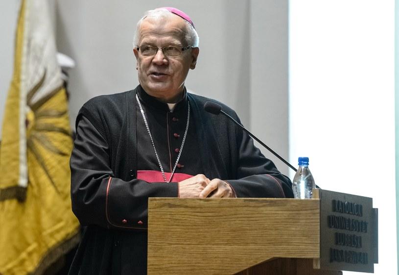 Przewodniczący Konferencji Episkopatu Polsk abp Józef Michalik /Wojciech Pacewicz /PAP