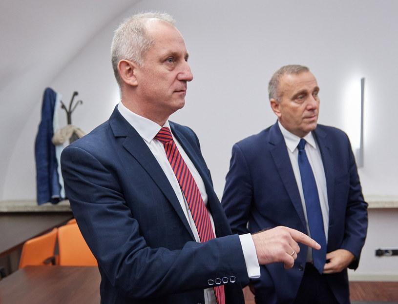 Przewodniczący KP PO Sławomir Neumann /Adam Warżawa /PAP