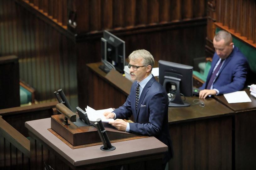 Przewodniczący Krajowej Rady Sądownictwa Leszek Mazur /Leszek Szymański /PAP