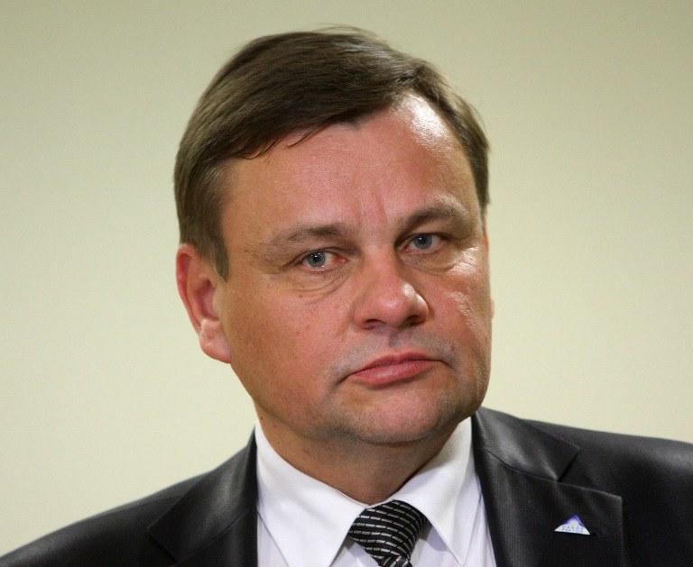 Przewodniczący litewskiego Sejmu Vydas Gedvilas /AFP