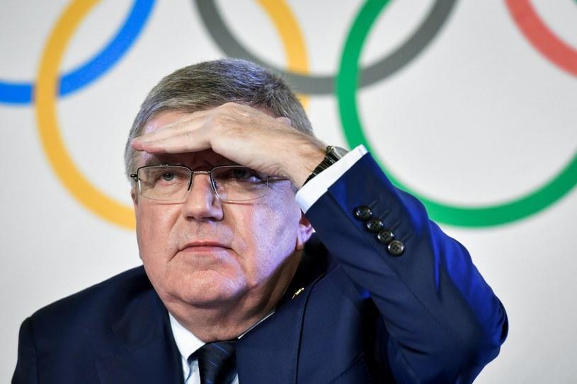 Przewodniczący Międzynarodowego Komitetu Olimpijskiego Thomas Bach /AFP