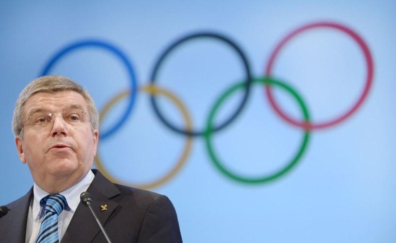 Przewodniczący MKOl Thomas Bach /AFP