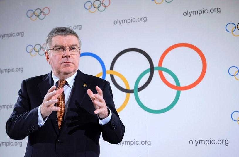 Przewodniczący MKOl-u Thomas Bach /AFP