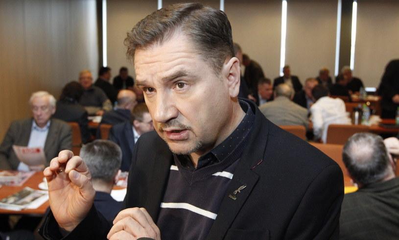 """Przewodniczący NSZZ """"Solidarność"""" Piotr Duda /Andrzej Grygiel /PAP"""