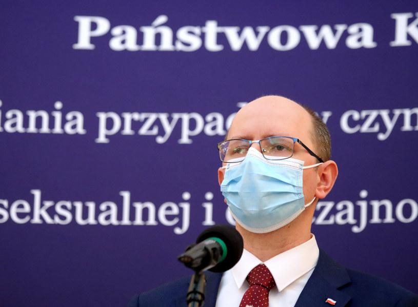 Przewodniczący państwowej komisji ds. pedofilii Błażej Kmieciak /Piotr Molecki/East News /East News