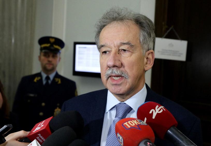 Przewodniczący Państwowej Komisji Wyborczej sędzia Wojciech Hermeliński /Tomasz Gzell /PAP