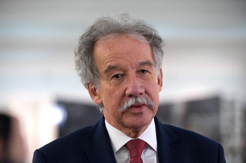 Przewodniczący Państwowej Komisji Wyborczej Wojciech Hermeliński /Grzegorz Krzyzewski /East News