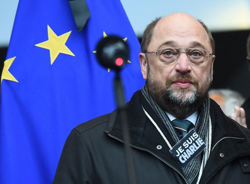 Przewodniczący Parlamentu Europejskiego Martin Schultz /AFP