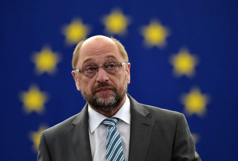 Przewodniczący Parlamentu Europejskiego Martin Schulz /AFP