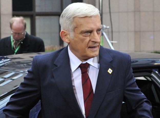 Przewodniczący PE Jerzy Buzek /AFP
