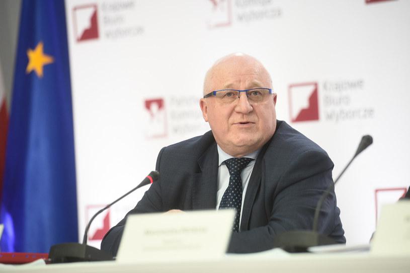 Przewodniczący PKW sędzia Sylwester Marciniak /Zbyszek Kaczmarek /East News