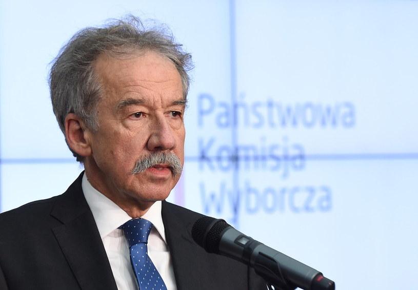 Przewodniczący PKW Wojciech Hermeliński /Radek Pietruszka /PAP