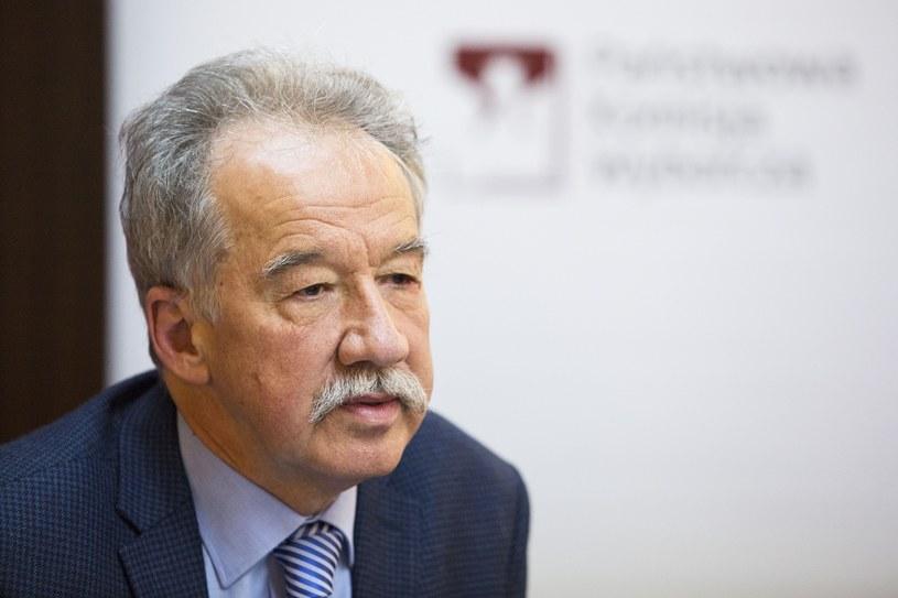 Przewodniczący PKW Wojciech Hermeliński /Andrzej Hulimka  /Reporter