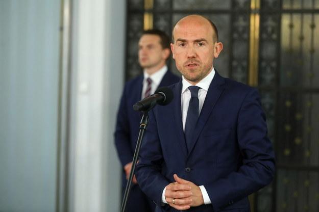 Przewodniczący Platformy Obywatelskiej Borys Budka /Rafał Guz /PAP