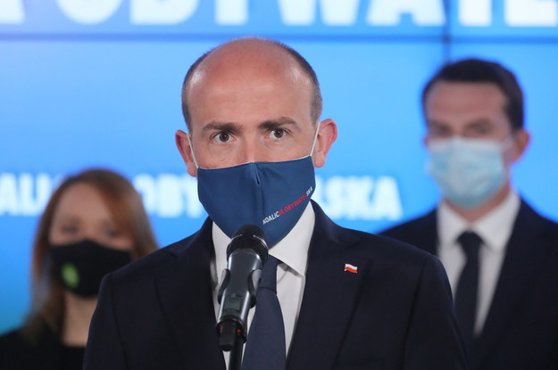 Przewodniczący Platformy Obywatelskiej Borys Budka /Paweł Supernak /PAP