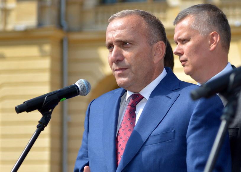 Przewodniczący Platformy Obywatelskiej Grzegorz Schetyna /Darek Delmanowicz /PAP
