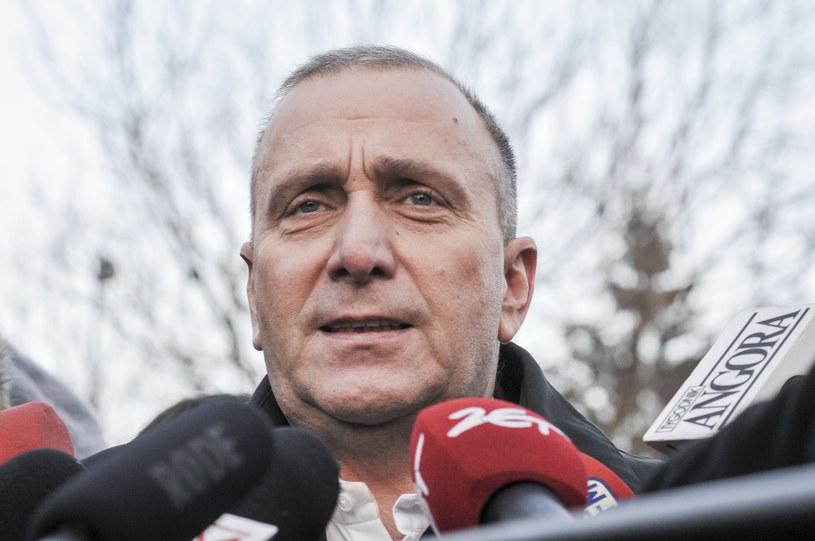 Przewodniczący Platformy Obywatelskiej Grzegorz Schetyna /Artur Zawadzki /Reporter