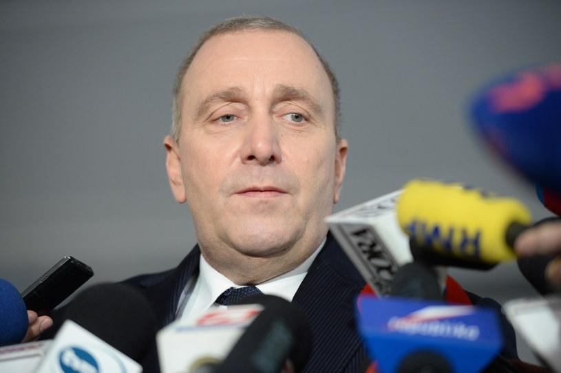 Przewodniczący Platformy Obywatelskiej Grzegorz Schetyna /Jacek Turczyk /PAP