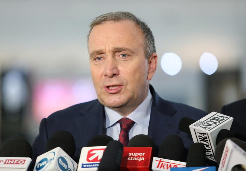 Przewodniczący Platformy Obywatelskiej Grzegorz Schetyna /Leszek Szymański /PAP