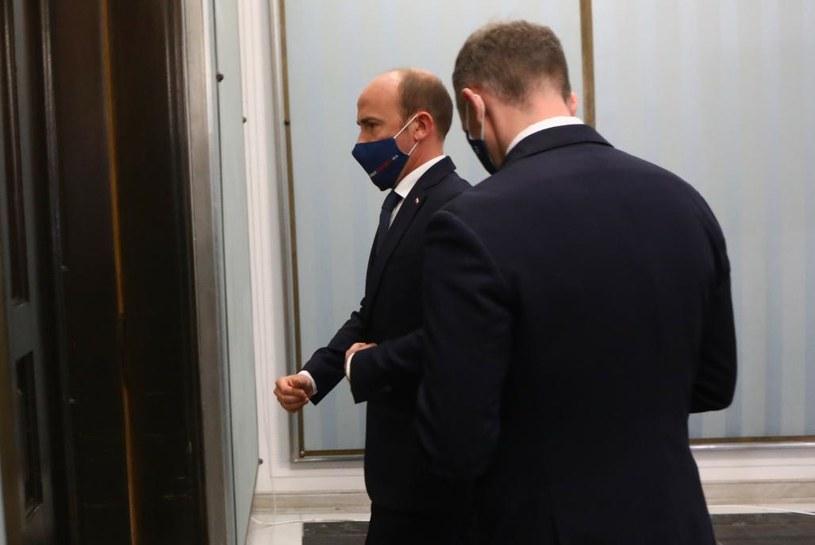 Przewodniczący PO Borys Budka /Tomasz Jastrzebowski/REPORTER /Reporter