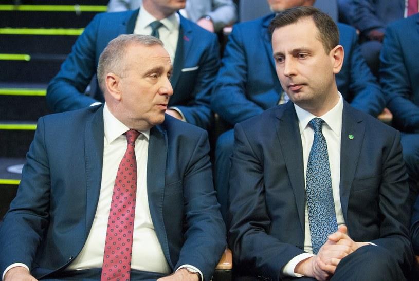 Przewodniczący PO Grzegorz Schetyna (L) i prezes PSL Władysław Kosiniak-Kamysz (P) /Andrzej Zbraniecki / /East News