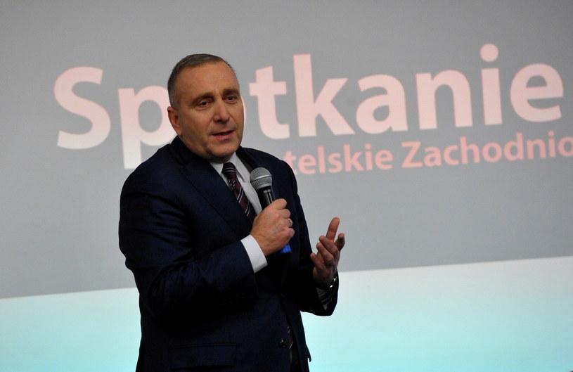 Przewodniczący PO Grzegorz Schetyna /Marcin Bielecki /PAP